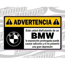 ADVERTENCIA BMW