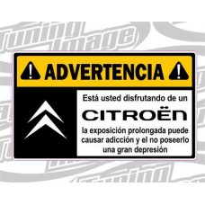 ADVERTENCIA CITROEN