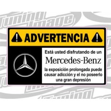 ADVERTENCIA MERCEDES BENZ