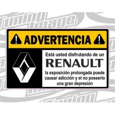 ADVERTENCIA RENAULT