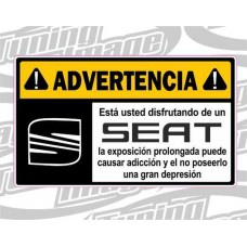 ADVERTENCIA SEAT